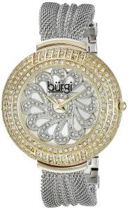 [バージ]Burgi 腕時計 Analog Display Japanese Quartz Silver Watch BUR051TTG レディース [並行輸入品]