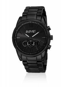 [オーガストシュタイナー]August Steiner 腕時計 Analog Display Japanese Quartz Black Watch AS8163BK メンズ [並行輸入品]