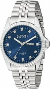 [オーガストシュタイナー]August Steiner 腕時計 Analog Display Japanese Quartz Silver Watch AS8169BU メンズ [並行輸入品]