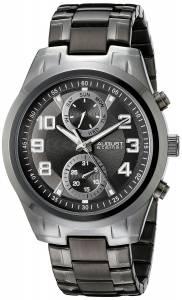 [オーガストシュタイナー]August Steiner 腕時計 Analog Display Japanese Quartz Black Watch AS8173BK メンズ [並行輸入品]