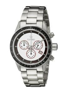 [ジェビル]Gevril 腕時計 Tribeca Analog Display Quartz Silver Watch A2113 メンズ [並行輸入品]