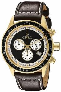 [ジェビル]Gevril 腕時計 Tribeca Analog Display Quartz Brown Watch A2112 メンズ [並行輸入品]