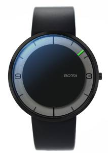 [ボッタデザイン]Botta-Design 腕時計 NOVA 44mm Mens Black Edition, BottaDesign, Rubber Strap, 759012BE [並行輸入品]