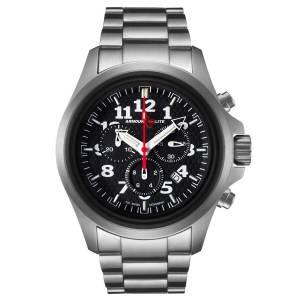 [アーマーライト]Armourlite 腕時計 Officer Series Steel Chronograph Watch, Tritium Illumination AL812 [並行輸入品]
