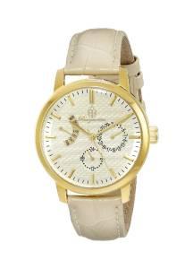 [ブルゲルマイスター]Burgmeister 腕時計 GoldTone Watch with Beige Leather Band BM218-290 レディース [並行輸入品]
