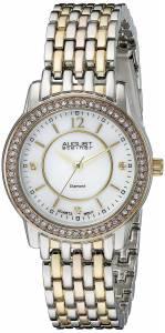 [オーガストシュタイナー]August Steiner 腕時計 Analog Display Swiss Quartz Two Tone Watch AS8027TRI レディース [並行輸入品]