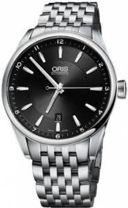 [オリス]Oris  Artix Date Black Dial Stainless Steel Automatic Swiss Made Watch 73376424034MB