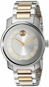 [モバード]Movado 腕時計 Bold Analog Display Swiss Quartz Two Tone Watch 3600245 レディース [並行輸入品]