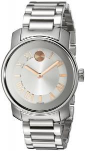 [モバード]Movado 腕時計 Bold Analog Display Swiss Quartz Silver Watch 3600244 レディース [並行輸入品]