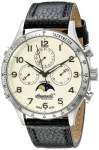 [インガソール]Ingersoll 腕時計 Stowe Analog Display Automatic Self Wind Black Watch IN1227SCR メンズ [並行輸入品]