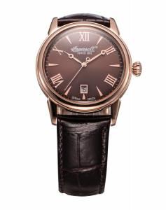 [インガソール]Ingersoll 腕時計 Grafton Brown Leather Analog Quartz Watch INQ001BRRS メンズ [並行輸入品]