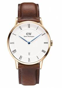 [ダニエル ウェリントン]Daniel Wellington Dapper St. Mawes Rosegold 38mm Leather 1100DW