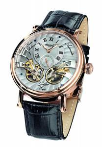 [インガソール]Ingersoll Golden Eyes Analog Display Automatic Self Wind Black Watch IN1711RGY