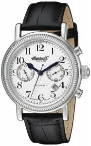 [インガソール]Ingersoll  Butterfield Analog Display Automatic Self Wind Black Watch IN1828WH