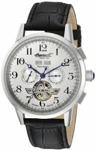 [インガソール]Ingersoll 腕時計 Caldwell Analog Display Automatic Self Wind Black Watch IN4411WH メンズ [並行輸入品]