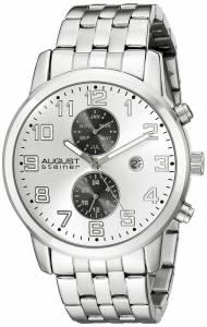 [オーガストシュタイナー]August Steiner 腕時計 Analog Display Swiss Quartz Silver Watch AS8175SS メンズ [並行輸入品]