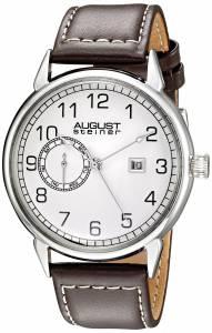 [オーガストシュタイナー]August Steiner 腕時計 Analog Display Swiss Quartz Brown Watch AS8182SSBR メンズ [並行輸入品]