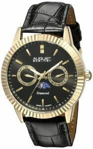 [オーガストシュタイナー]August Steiner 腕時計 Analog Display Swiss Quartz Black Watch AS8051BKG メンズ [並行輸入品]