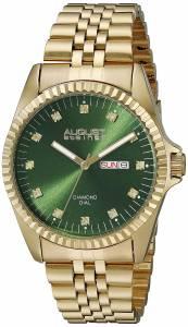 [オーガストシュタイナー]August Steiner 腕時計 Analog Display Japanese Quartz Gold Watch AS8169GN メンズ [並行輸入品]