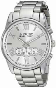 [オーガストシュタイナー]August Steiner 腕時計 Analog Display Japanese Quartz Silver Watch AS8163SS メンズ [並行輸入品]
