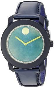 [モバード]Movado 腕時計 Analog Display Swiss Quartz Blue Watch 3600267 レディース [並行輸入品]