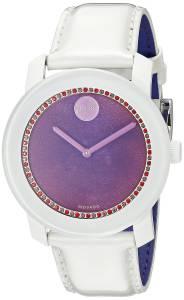 [モバード]Movado 腕時計 Analog Display Swiss Quartz White Watch 3600269 レディース [並行輸入品]