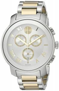 [モバード]Movado 腕時計 Analog Display Swiss Quartz Two Tone Watch 3600280 レディース [並行輸入品]