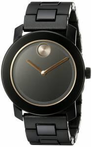 [モバード]Movado 腕時計 Analog Display Swiss Quartz Black Watch 3600315 メンズ [並行輸入品]