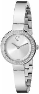 [モバード]Movado 腕時計 Analog Display Swiss Quartz Silver Watch 3600321 レディース [並行輸入品]