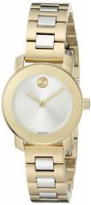 [モバード]Movado 腕時計 Analog Display Swiss Quartz Two Tone Watch 3600336 レディース [並行輸入品]