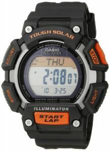 [カシオ]Casio 腕時計 Tough Solar Runner Digital Display Quartz Black Watch STL-S110H-1ACF メンズ [逆輸入]
