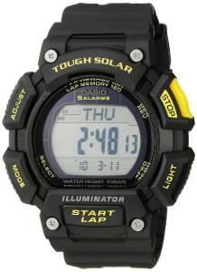[カシオ]Casio 腕時計 Tough Solar Runner Digital Display Quartz Black Watch STL-S110H-1CCR メンズ [逆輸入]