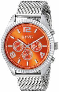 [オーガストシュタイナー]August Steiner Round Orange Radiant Sunburst Dial Two AS8196OR
