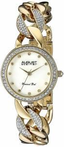 [オーガストシュタイナー]August Steiner Round Gold Mother of Pearl Dial Three AS8190YG