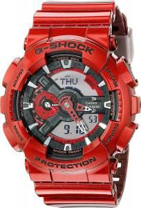 [カシオ]Casio 腕時計 GShock GA110NM Red Watch GA-110NM-4ACR ユニセックス [逆輸入]