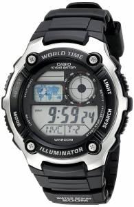 [カシオ]Casio 腕時計 Digital 10Year Battery Digital Display Quartz Black Watch AE-2100W-1AVCF メンズ [逆輸入]