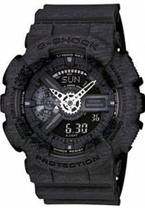 [カシオ]Casio 腕時計 GShock Analog/Digital XLarge Watch Heather Black GA110HT1A GA-110HT-1ACR [逆輸入]