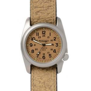 [ベルトゥッチ]bertucci 腕時計 12082 Coyote Leather Strap Band Khaki Dial Watch 12081 [並行輸入品]