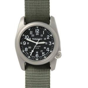 [ベルトゥッチ]bertucci 腕時計 Defender Drab Strap Band Black Dial Watch 12083 [並行輸入品]