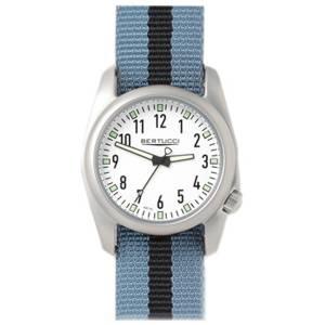 [ベルトゥッチ]bertucci 腕時計 Grey and Black Nylon Band White Dial Watch 11059 [並行輸入品]
