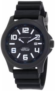 [モーメンタム]Momentum 腕時計 Cobalt V Black Hyper Natural Rubber Watch 1M-SP06B8 メンズ [並行輸入品]