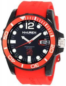[ハウレックスイタリア]Haurex 腕時計 Italy Caimano Date Black Dial N1354UNR メンズ [並行輸入品]