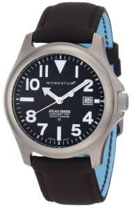 [モーメンタム]Momentum 腕時計 Atlas Black Dial Brown Touch Leather Watch 1M-SP00B12C メンズ [並行輸入品]