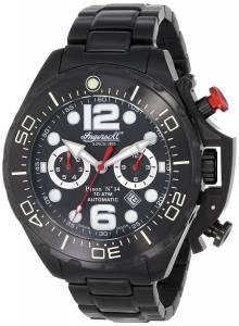 [インガソール]Ingersoll 腕時計 Automatic Bison No. 34 Black Watch IN1623BKBK メンズ [並行輸入品]