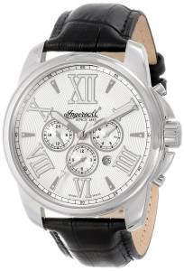 [インガソール]Ingersoll 腕時計 Waddell Black/Silver Stainless Steel Watch IN3216SL メンズ [並行輸入品]