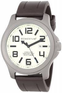 Momentum Men's 1M-SP08L1C Cobalt Lite Brown Groove Rubber Watch