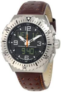 [モーメンタム]Momentum 腕時計 Format 4 Brown Perforated Leather Watch 1M-SP24B2C メンズ [並行輸入品]