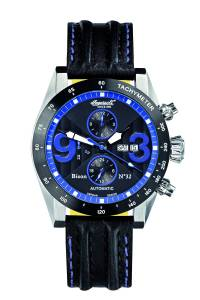 [インガソール]Ingersoll Bison No. 32 Fine Automatic Timepiece Blue Numerals Watch IN1620BKBL