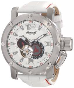 [インガソール]Ingersoll Bison No. 26 Analog Display Automatic Self Wind White Watch IN6906WH