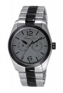 [ケネスコール]Kenneth Cole New York Classic Analog Display Japanese Quartz Silver Watch KC9365